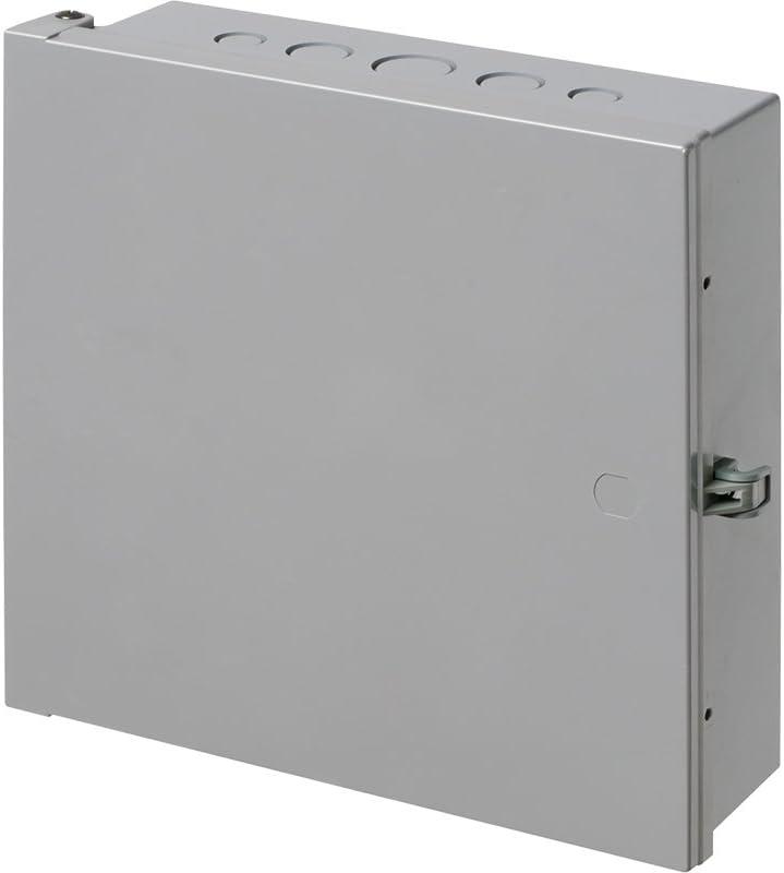 "Arlington EB1111-1 Electronic Equipment Enclosure Box, 11"" x 11"" x 3.5"", Non-Metallic, 1-Pack"