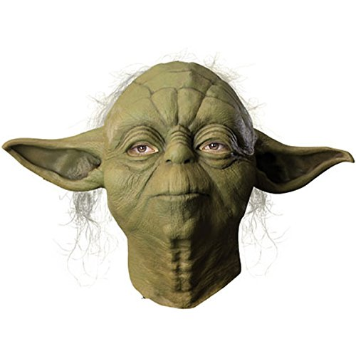 Adult Yoda Mask - Deluxe Yoda Mask Costume Accessory