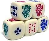 Poker Dice Pack 5 Dice