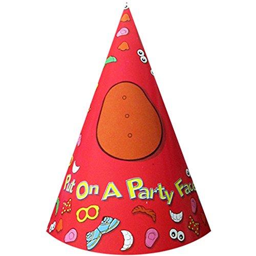 Mr. Potato Head Cone Hats w/ Stickers -