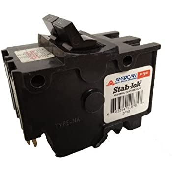 American/Federal Pacific Circuit Breaker, 2-Pole 70-Amp Thick Series