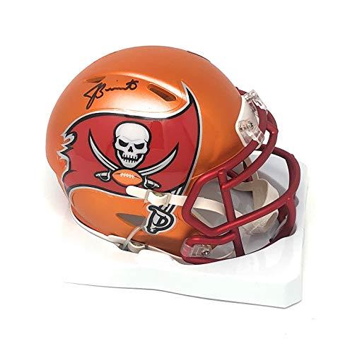 Jameis Winston Tampa Bay Buccaneers Signed Autograph Blaze Speed Mini Helmet Winston GTSM Player Hologram Certified