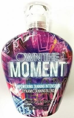 Designer Skin Own the Moment Tan Intensifier Indoor Tanning Bed Lotion, 10 Fl. (276 Ml))