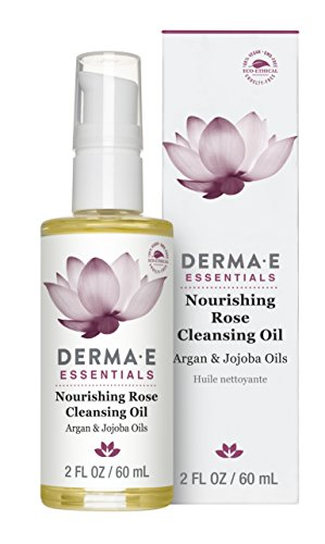 Derma E Nourishing Rose Cleansing Oil, 2 Fluid Ounce