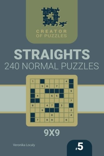 Creator Of Puzzles   Straights 240 Normal  Volume 5