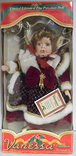 Vanessa Collection Limited Edition Fine Porcelain Doll 17