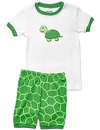 Shorts Boys 2 Piece Pajama Top & Pants 100% Cotton (Size 2 Toddler-10 Years)