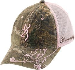Browning Country Girl Cap, Realtree Xtra/Pink