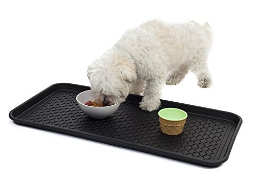 All-Purpose Tray By Dave Electronics, for Boots, Shoes, Paint, Pets, Garden, Kitchen, Pantry, Car, Entryway, Garage, Mudroom. Indoor-outdoor Storage and Floor Protection, Use As Cat Litter Mat or Dog Feeding Mat – 30x15x1.2 Inches