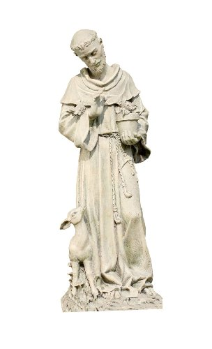 St. Francis Statue - Resin 20""