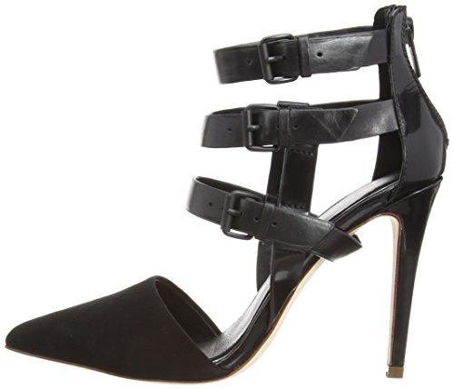Elie Nero Con Fibbie Andover Donna Tahari black 1000 Sandali schwarz 6xP6p1w