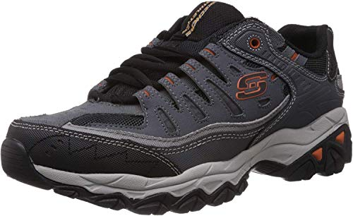 Skechers Sport Men's Afterburn Memory Foam Lace-Up Sneaker