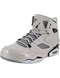 Mens Jordan Fltclb 91 Leather Hight Top Lace Up Basketball Shoes