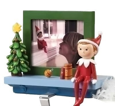 Stocking Frame Holder Photo - Elf on the Shelf Picture Frame and Stocking Holder