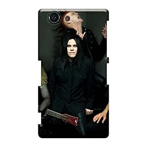 Shockproof Hard Phone Covers For Sony Xperia Z3 Mini With Custom Stylish Biohazard Band Series Iphonecase88