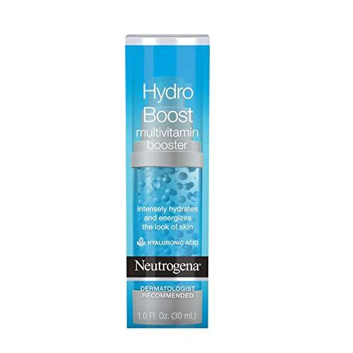 Neutrogena Hydro Boost Multivitamin Hydrating & Revitalizing Face Serum with Vitamin E, Niacinamide & Hyaluronic Acid to Moisturize Dry Skin & Help Even Skin Tone, 1 fl. oz