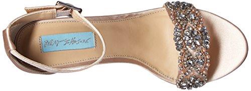 Betsey Johnson Women's Sb-Gina Dress Sandal Champagne j21nM