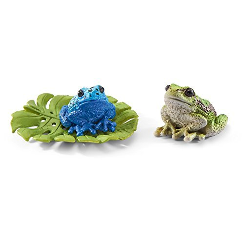 Schleich Frog Accessories Set (Poison Arrow Dart Frog)