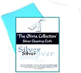The Olivia Collection Single TOC Silver Jewellery Anti Tarnish Polishing Cloth Large 220mm x315mm
