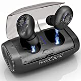 HeadSound H5 True Wireless Earbuds, Bluetooth 5.0...