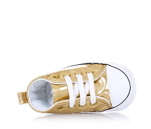 CONVERSE 855121C FIRST STAR GOLD SNEAKERS GOLD 18