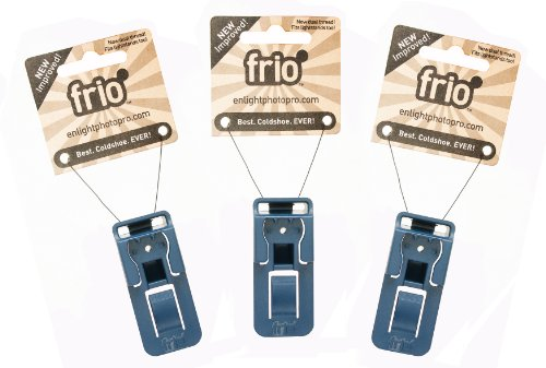 Frio V2 Universal Locking Coldshoe Three Pack by Frio Coldshoe