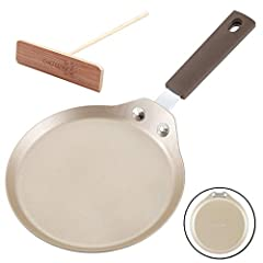 Crepe Pan with Bamboo