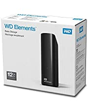 WD 12TB Elements Desktop External Hard Drive - USB 3.0