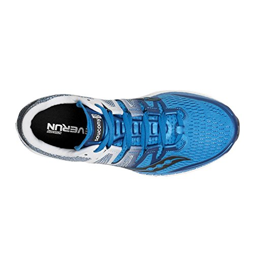 Saucony Herren Liberty ISO Fitnessschuhe blau (Blu / Wht / Blk 2)