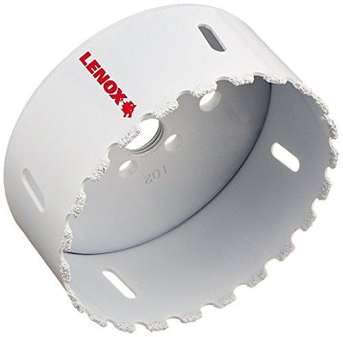 Lenox Tools 2996464CG Master-Grit Carbide Grit Hole Saw, 4-Inch or 102mm (Masonry Bit Won T Drill Through Brick)