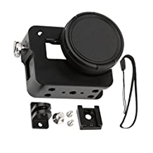MagiDeal Aluminium Rig Housing Case Frame with 52mm UV Filter for GoPro Hero 5 Black