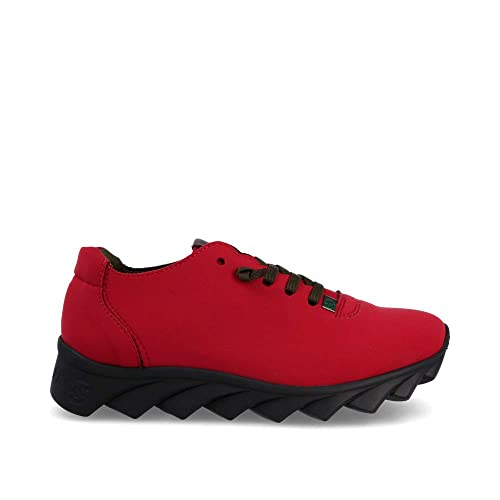 Zapato Hombre MORVI-W Tricot Vino Nib Negro Slowwalk: Amazon.es: Zapatos y complementos