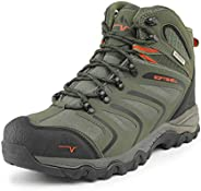 NORTIV 8 Men's Ankle High Waterproof Hiking Boots Outdoor Lightweight Shoes Backpacking Trekking Tr