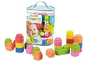 Clementoni Baby Clemmy Construcción 24 Bloques blandito 14889