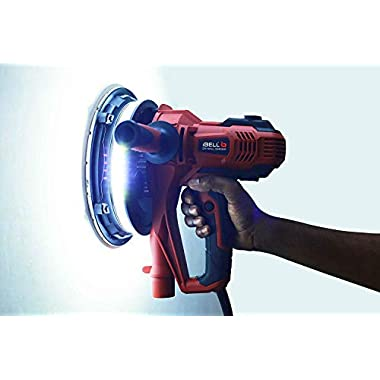 IBELL Dry Wall Sander DS80-90, 180MM, 800W, 1200-2300rpm with Vacuum and LED Light 11