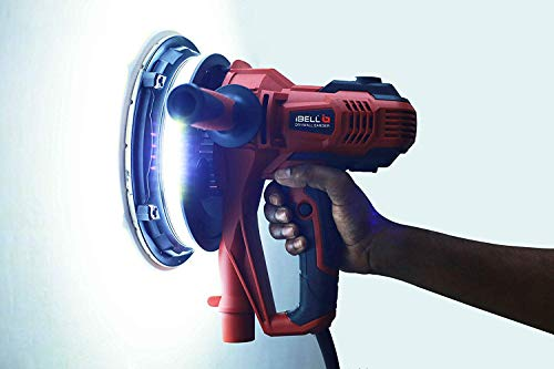IBELL Dry Wall Sander DS80-90, 180MM, 800W, 1200-2300rpm with Vacuum and LED Light 5
