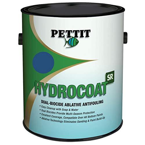 Pettit Hydrocoat Sr Paint, Quart Blue