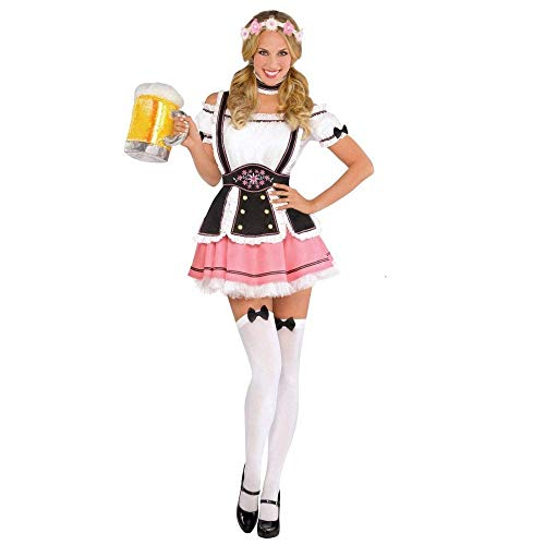 Amscan Oktobermiss Adult Costume - XX-Large (18-20),Pink]()