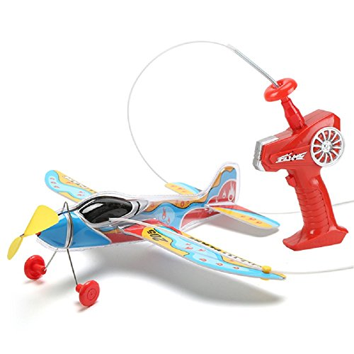 1PCS Electric circling simulation line remote control planes Wire controlling lite plane simulations air model Toys gift for (Control Line Wire)