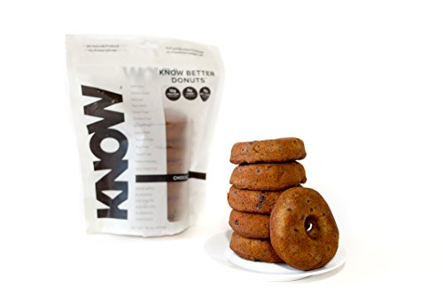 Know Foods Gluten Free Donuts  Low Carb  Amazing Taste  Keto   Paleo Friendly   6 Count  Frozen