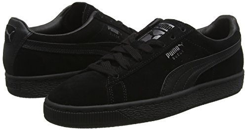 Puma Suede Negro Para puma puma Mujer Aged Wn's Zapatillas Classic 01 Black Satin Silver rr0Cwq