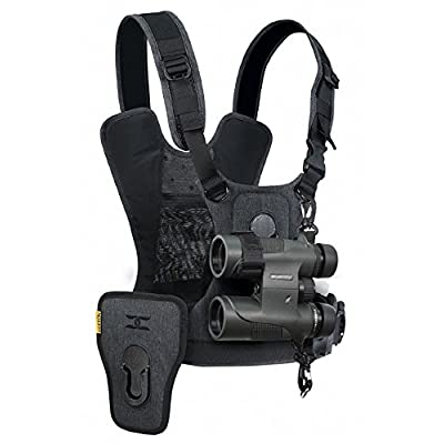 Image of Camera & Camcorder Straps Cotton Carrier CCS G3 Camera and Binocular Harness - Grey