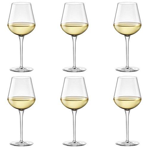 Bormioli Rocco Inalto Uno Medium Wine Glass - 470ml - Pack of 6 Drinking Glasses