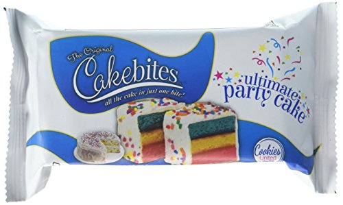 The Original Cakebites, Ultimate Party Cake! (12)- 2oz Packages. by ....
