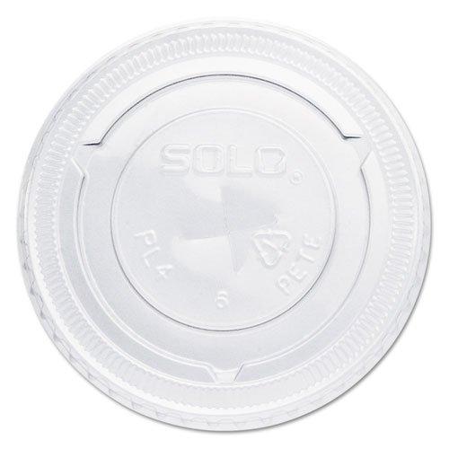 Solo Cup Company Straw-Slot Cold Cup Lids, For 7oz Plasti...