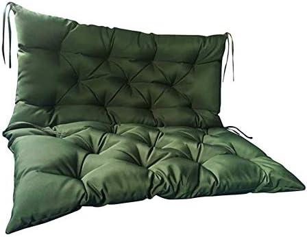 Duchen Langes Sitzkissen für Gartenbank, mit Rückenlehne, wasserdicht, für 2–3 Sitzer, Metall oder Holz, 10 cm dick