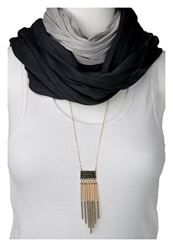 Geo Fringe Necklace SPUNKYsoul Collection