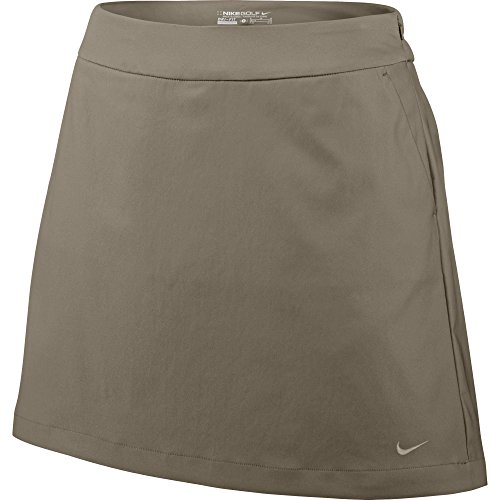 (Nike Golf Women's Tournament Skort (Khaki) 6)