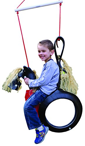 Pony Pal Recycled Horse Tire Swing (Tire Horse)