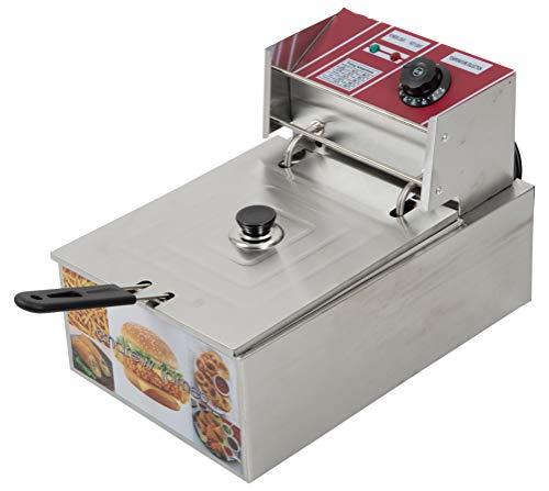 andrew james Deep Fryer 6 Liters Stainless Steel Mega Sale - 1 Year Warranty 1